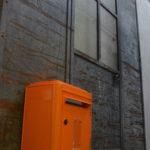 Boite aux lettres 1950 orange