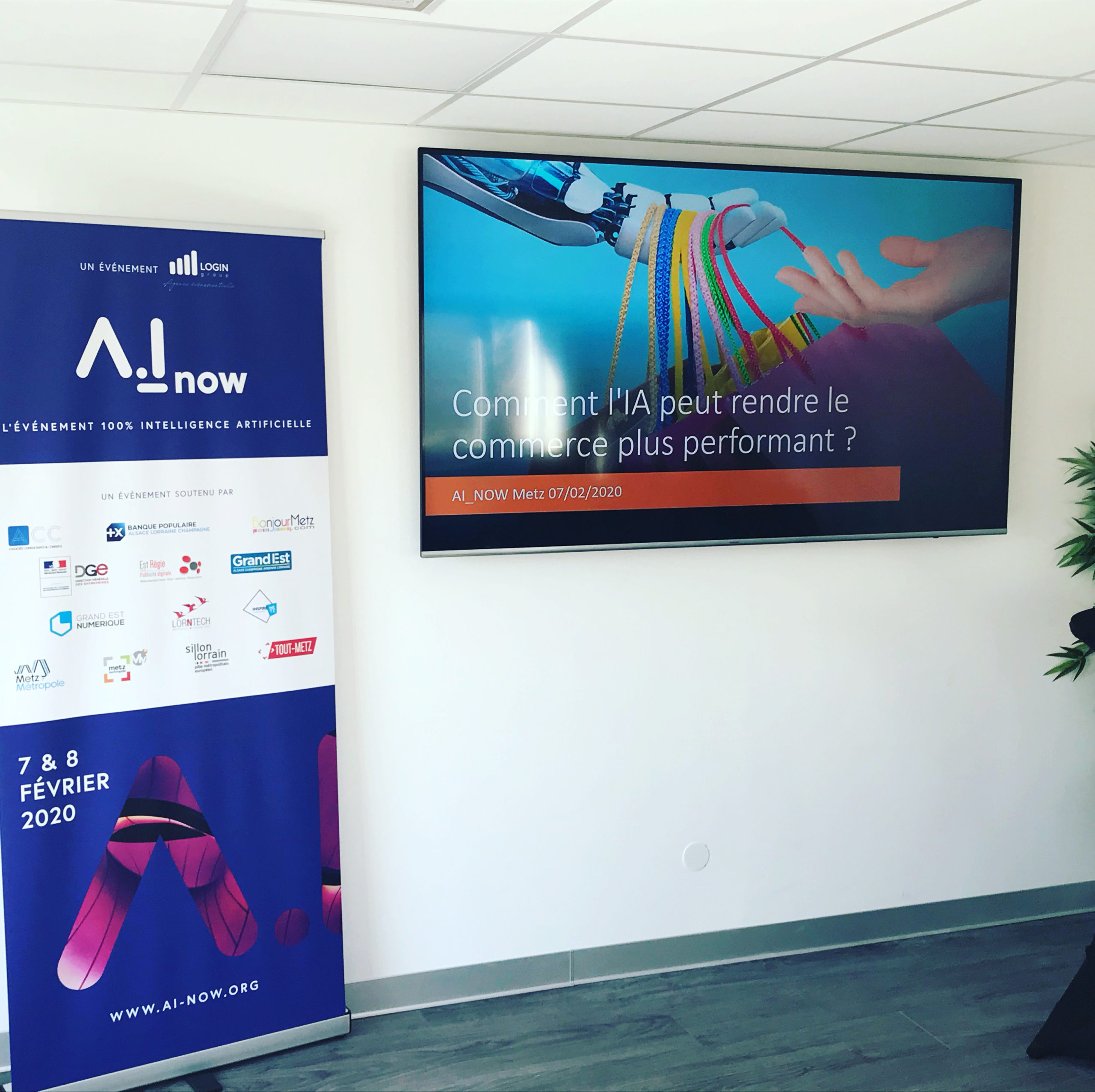 conférence ecommerce et intelligence arti AI NOW metzficielle