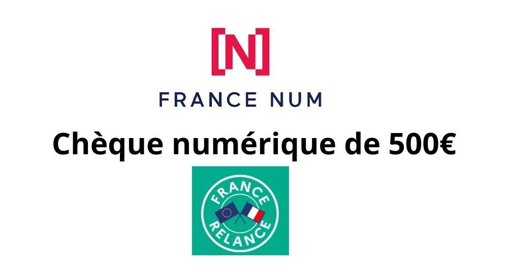 chèque france numérique
