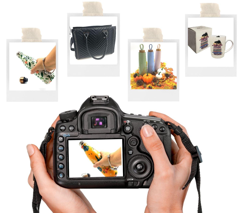 Pack de 20 photos optimisées pour vos produits en ligne (site e-commerce et place de marché).