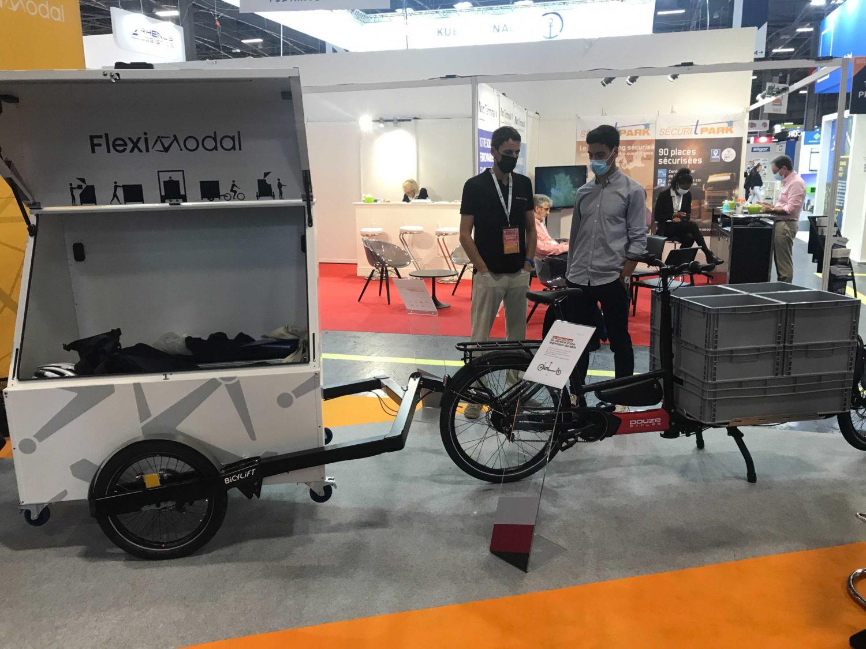 fleximodal vélos cargo logistique