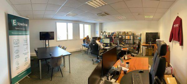 Nouveau bureau Etowline