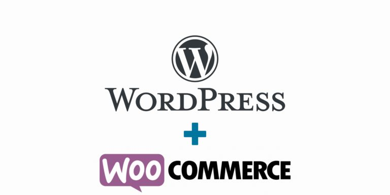 logo wordpress et woocommerce